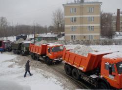 Уборка и вывоз снега в Минске