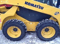 Аренда мини-погрузчика Komatsu SK820-5