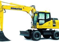 Аренда KOMATSU PW160-7