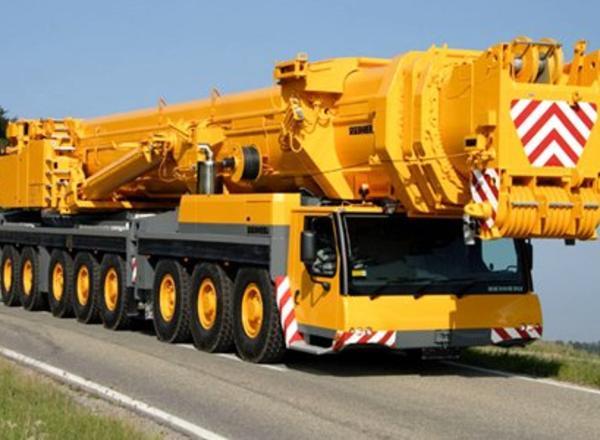 Аренда автокрана 160 тонн Liebherr LTM 1160