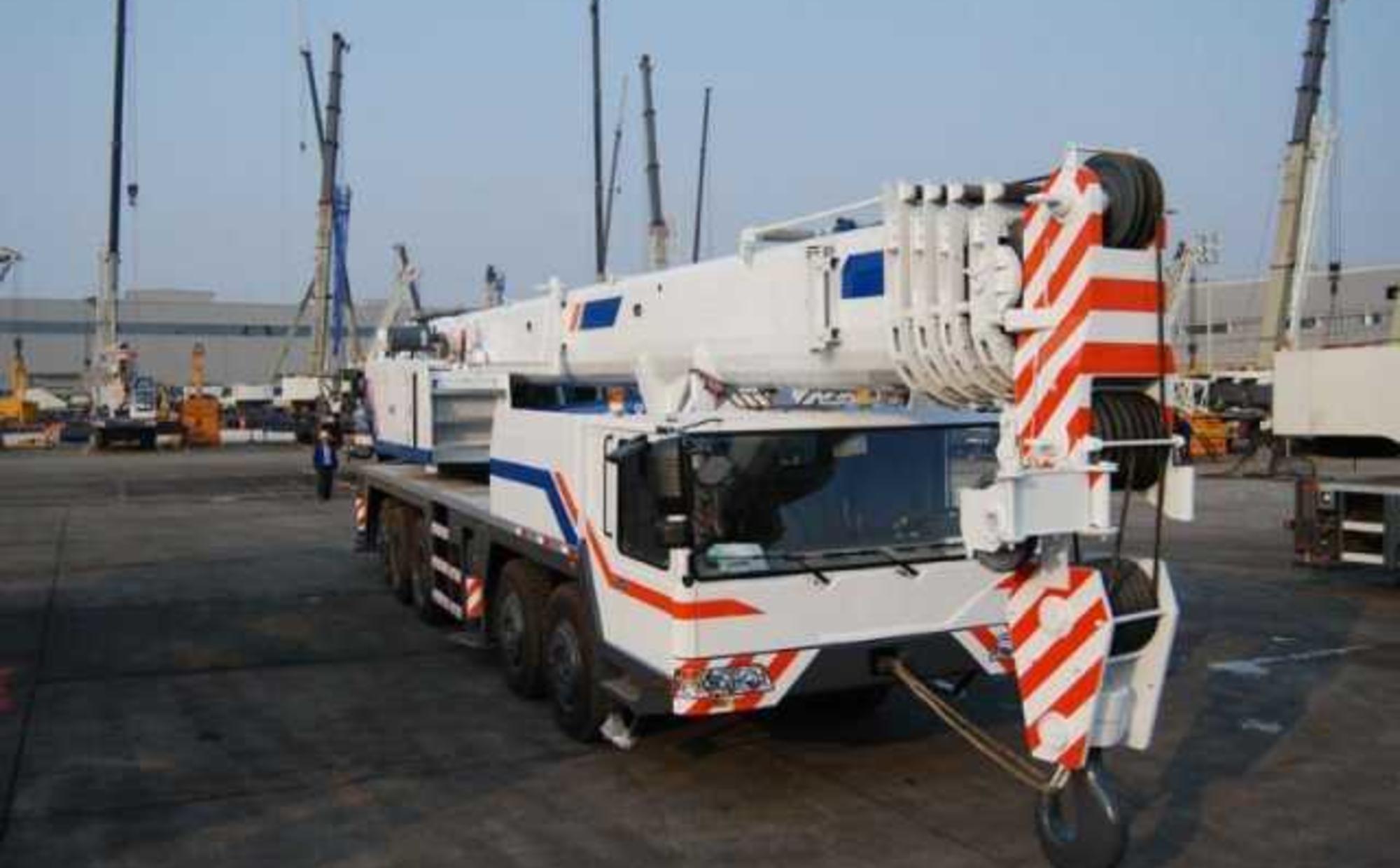 Аренда автокрана 100 тонн Zoomlion QY90V