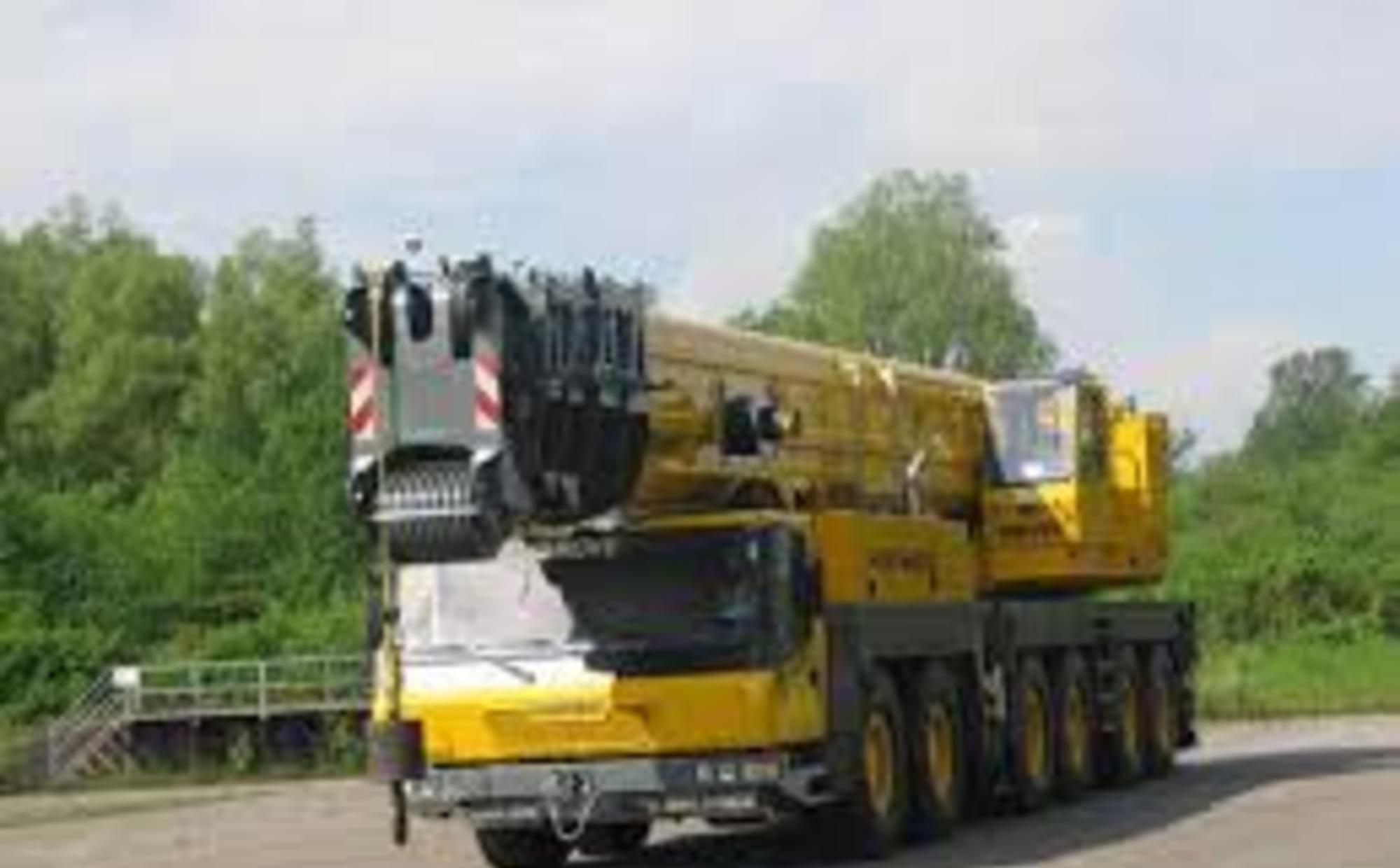 Аренда автокрана 300 тонн Grove GMK 6300