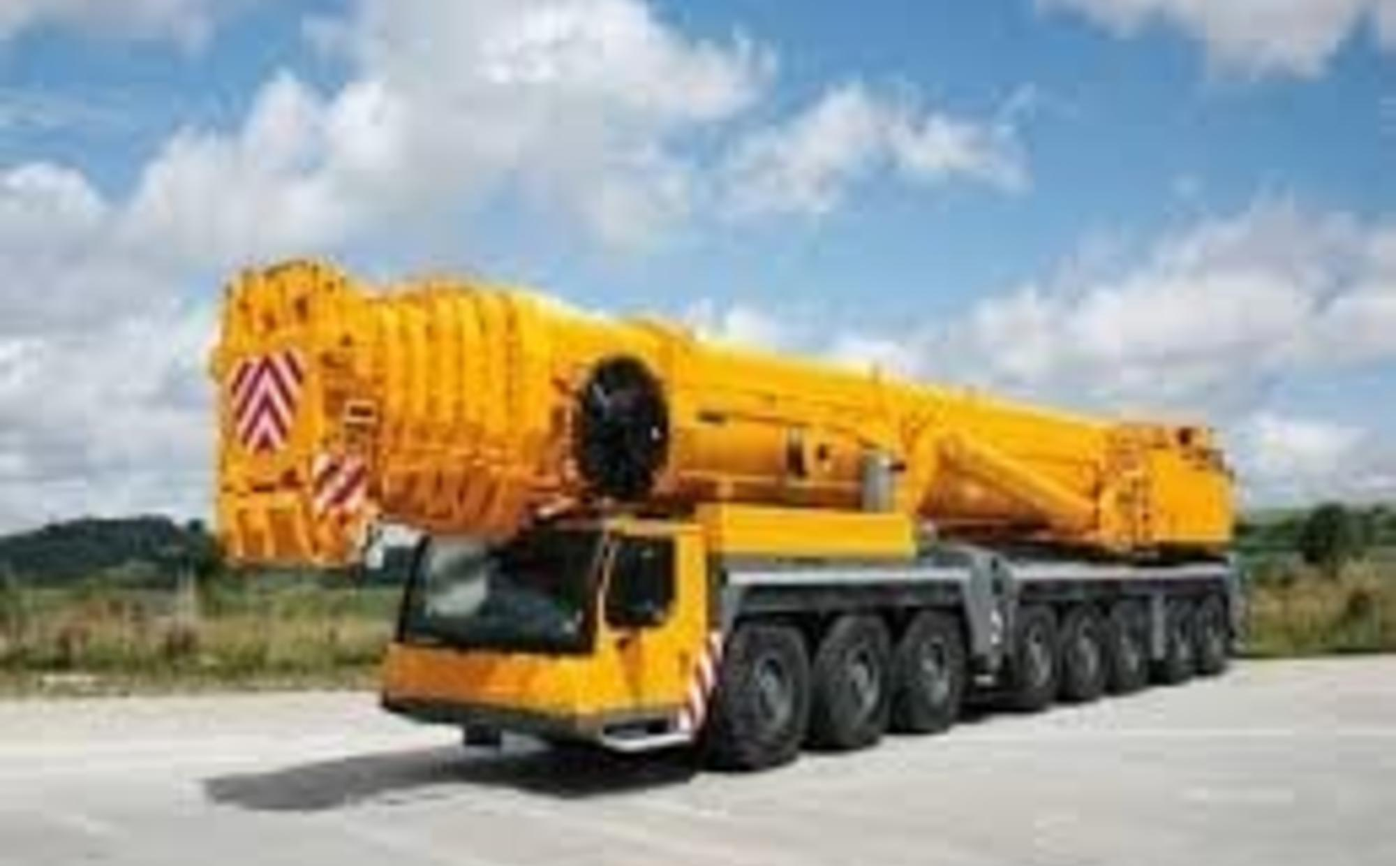 Аренда автокрана 500 тонн Liebherr LTM 1500