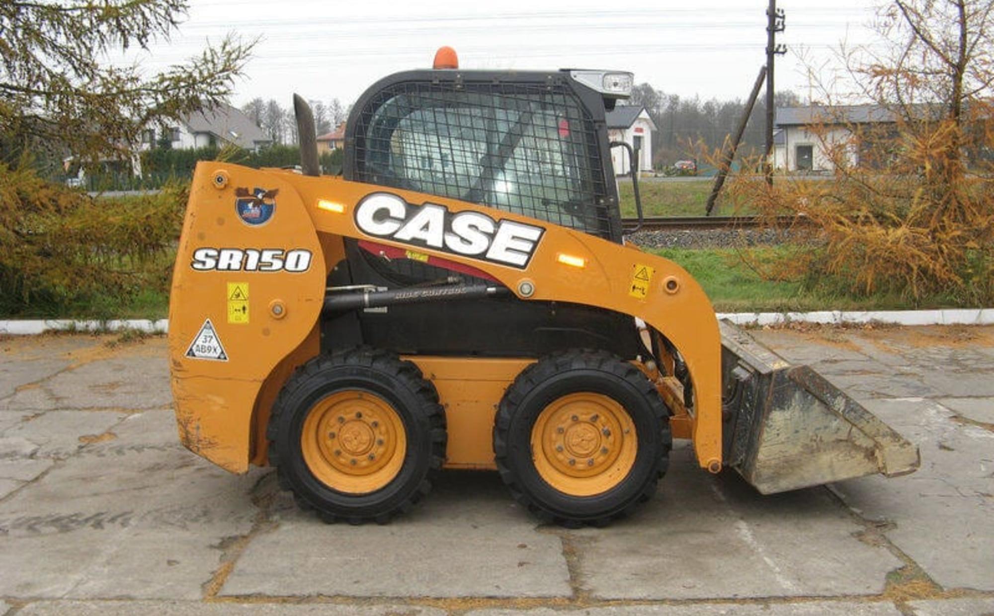 Аренда мини погрузчика Case SR150