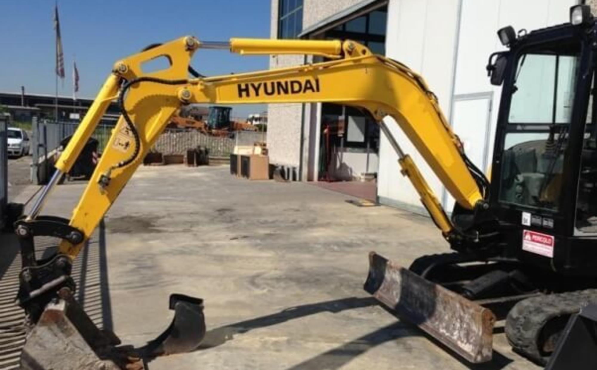 Аренда мини-экскаватора Hyundai R35-7