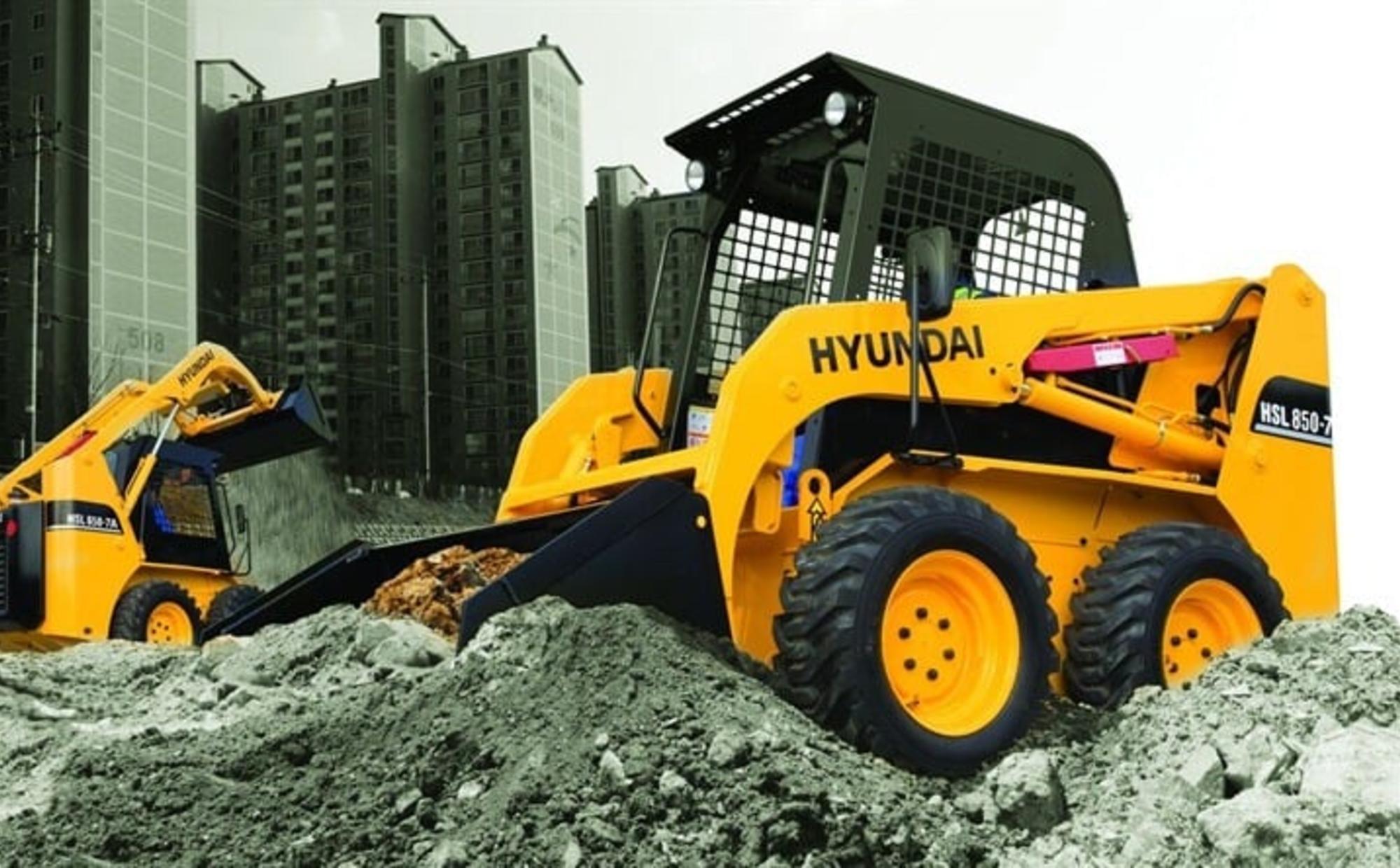 Аренда мини-погрузчика Hyundai HSL 650-7