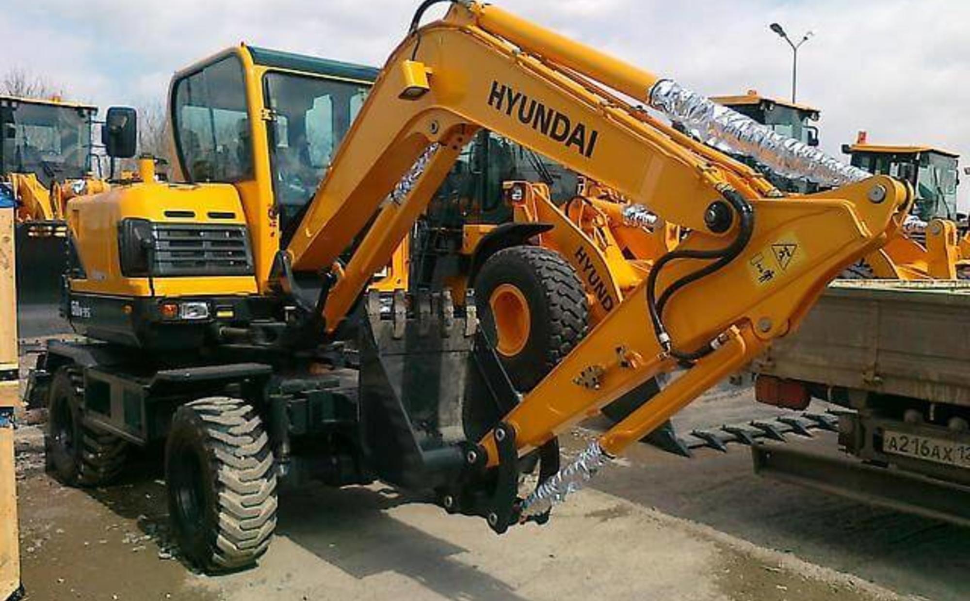 Аренда мини-экскаватора Hyundai R60W-9S