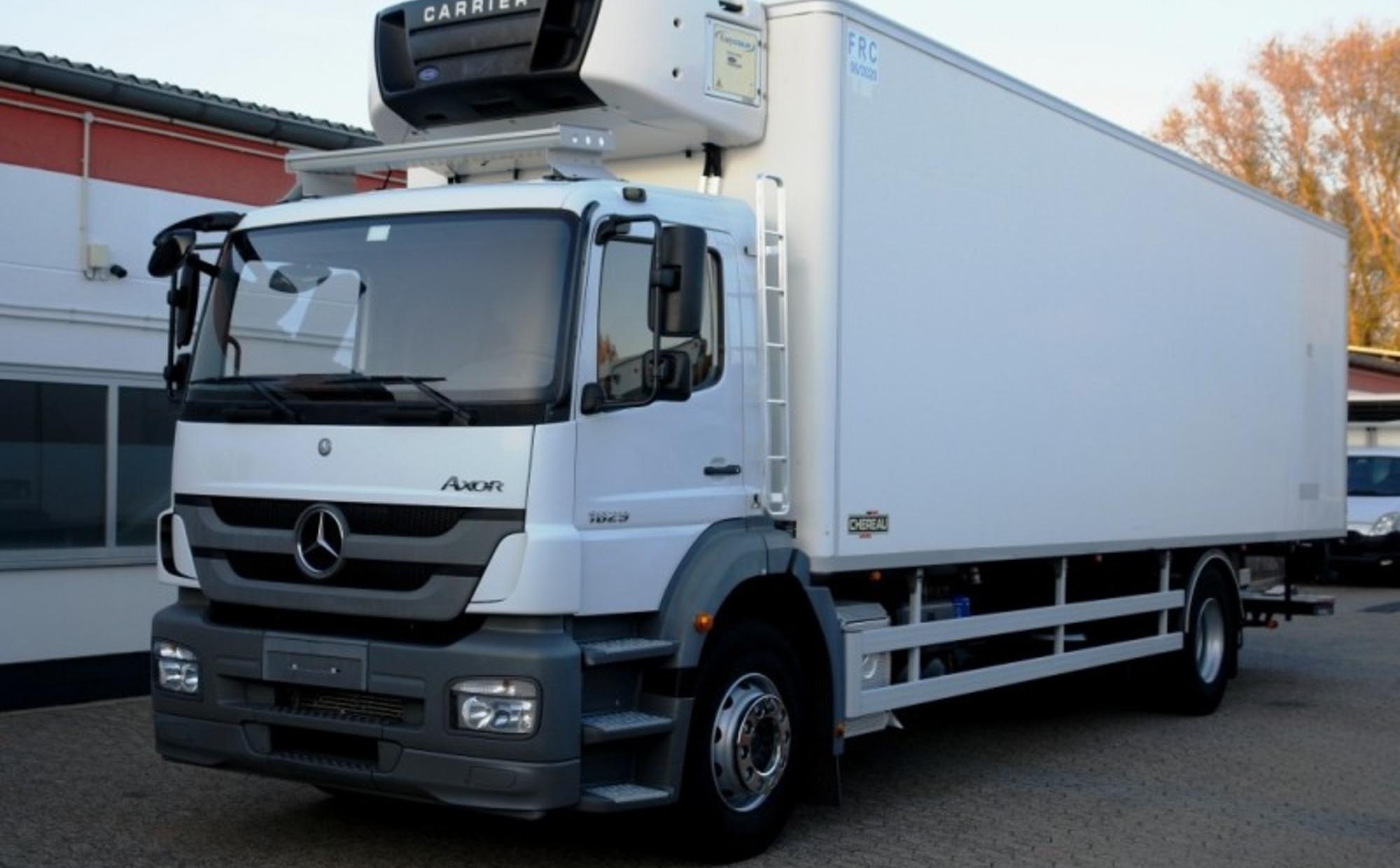Аренда самосвала 20 тонн Mercedes-Benz 2631