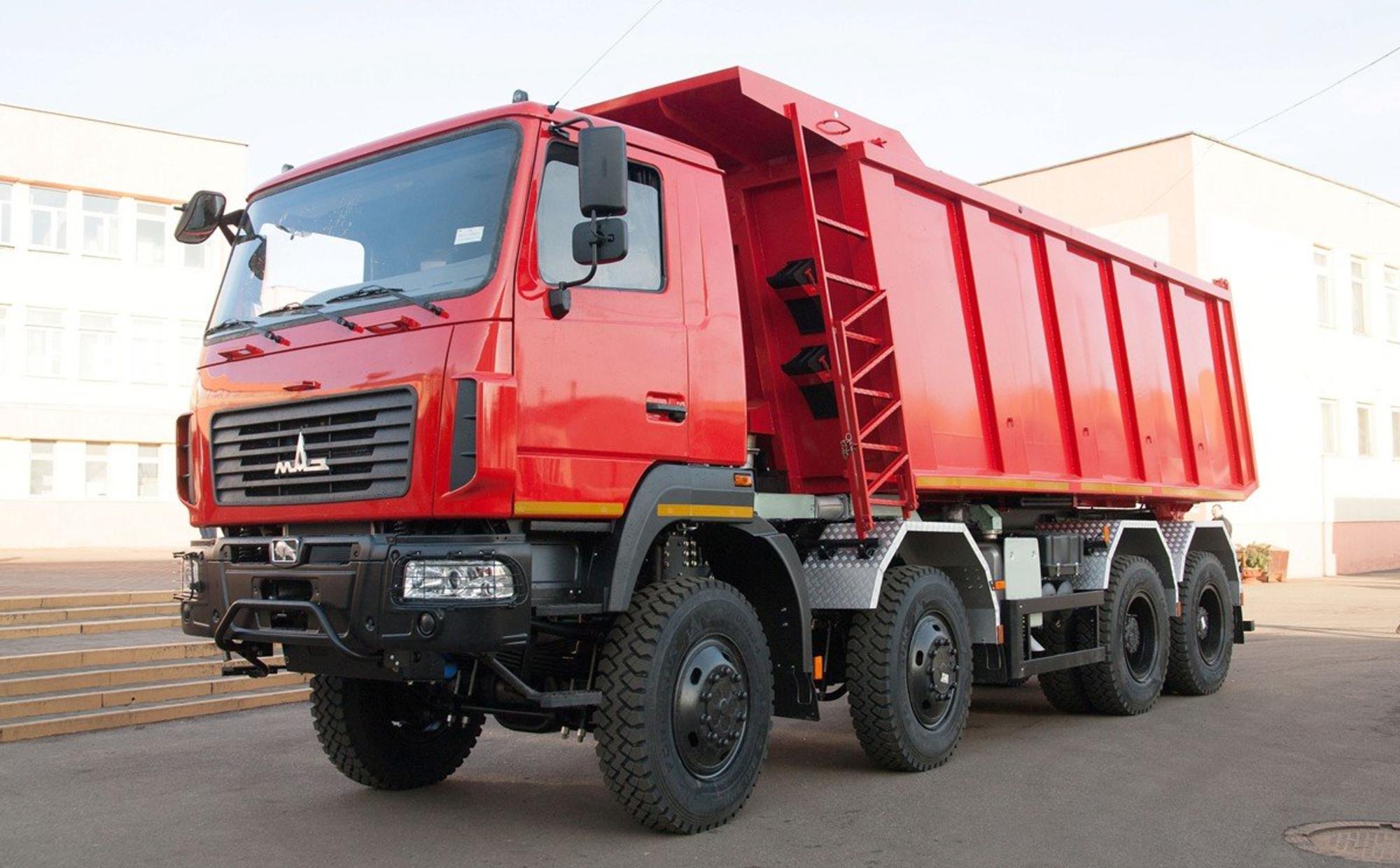 Аренда самосвала 30 тонн МАЗ-6516С9