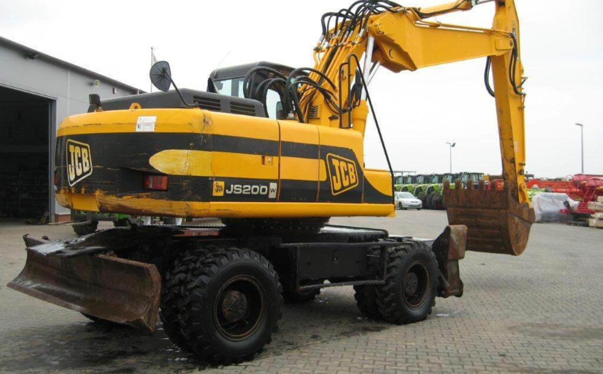 Аренда JCB JS200W